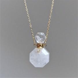 Křišťál - krystalový aroma difuzér (náhrdelník)