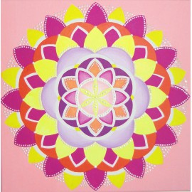 PAINTING - MANDALA OF JOY