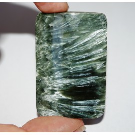 Minerál Serafinit - kabošon
