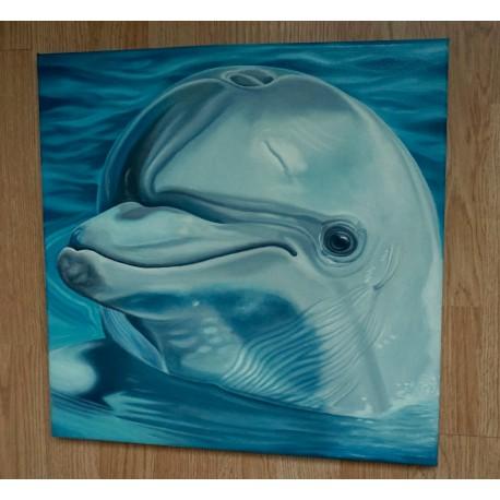 Obraz - Delfín